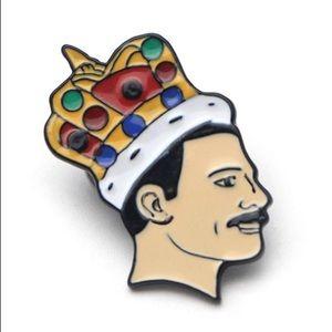 🎉HP🎉 Freddie Mercury Enamel Pin